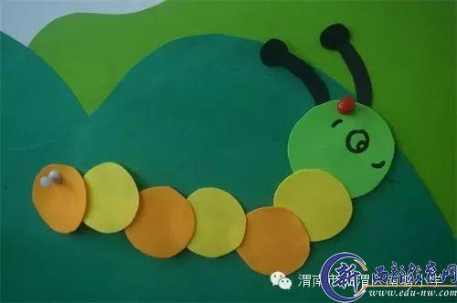 幼儿园剪纸-南塘幼儿园四月 春天 主题环创报道