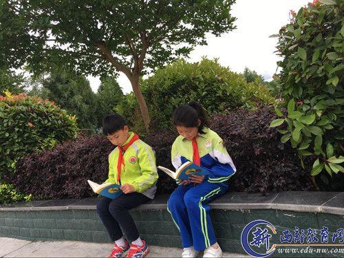 汉阴县小学镇杜家垭书香:夏日初始漩涡正浓2017小学生假期图片
